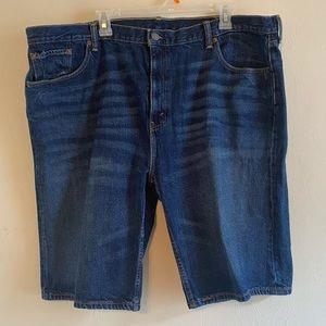 Levi's 502 Men's Blue Denim Jean Shorts